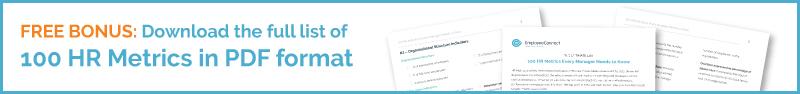 100 HR Metrics & KPIs - Free Download - EmployeeConnect