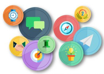 Social Employee Recognition Badges