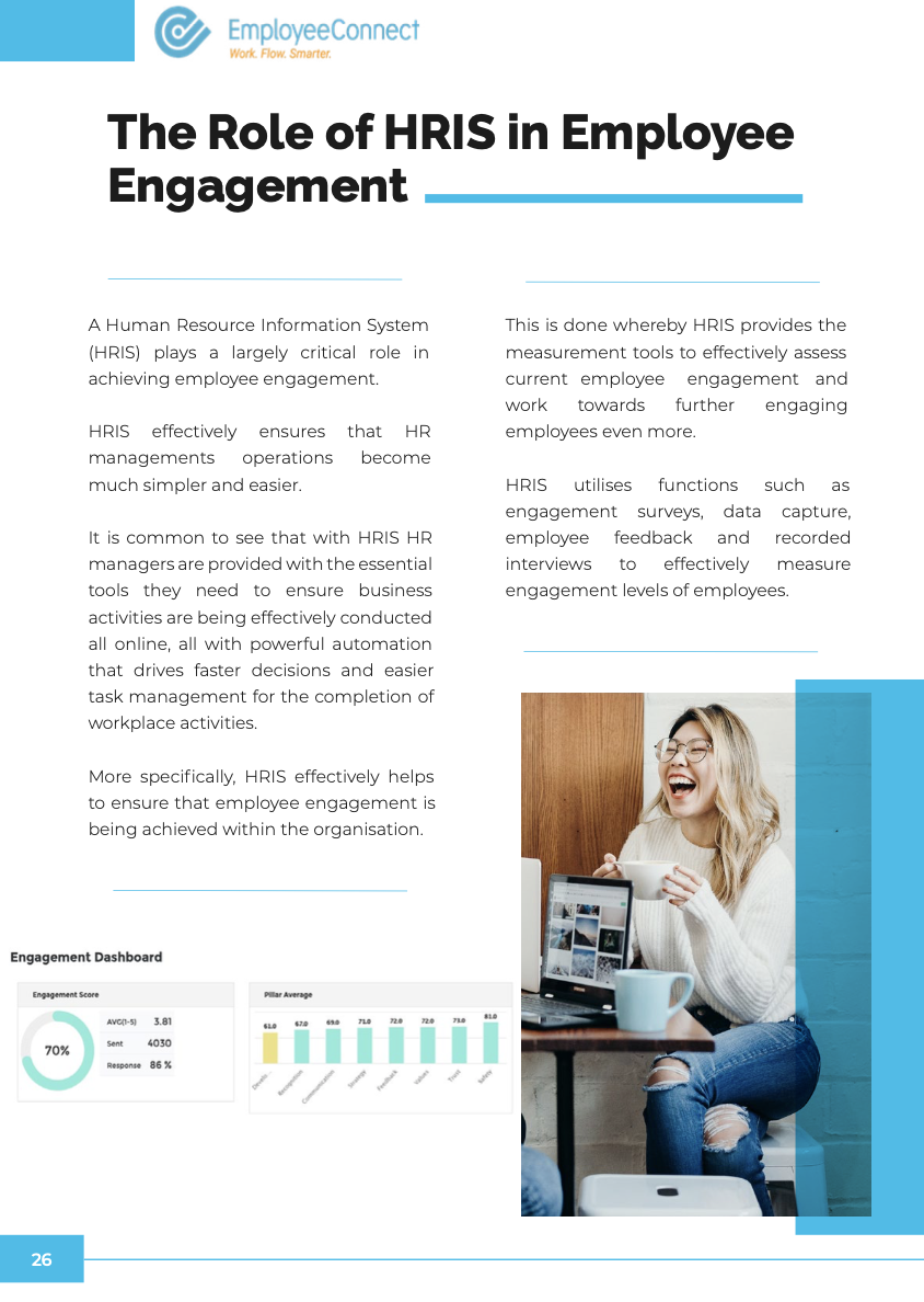 The role of HRIS in Employee Engagement